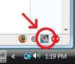 FingerFox 2.0 statusbar icon