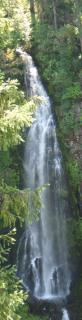 Waterfall near Medford, OR